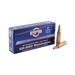 PPU 22-250 Remington SP