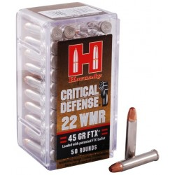 Hornady .22 WMR Critical Defense