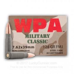WOLF 7.62x39mm HP