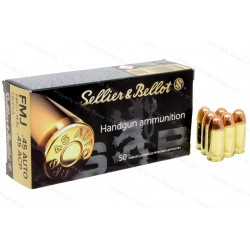 Sellier & Bellot .45 Auto 230 gr. FMJ