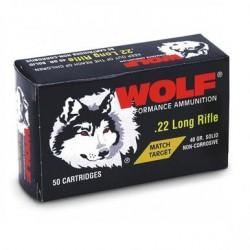 Wolf .22 lr Match Target