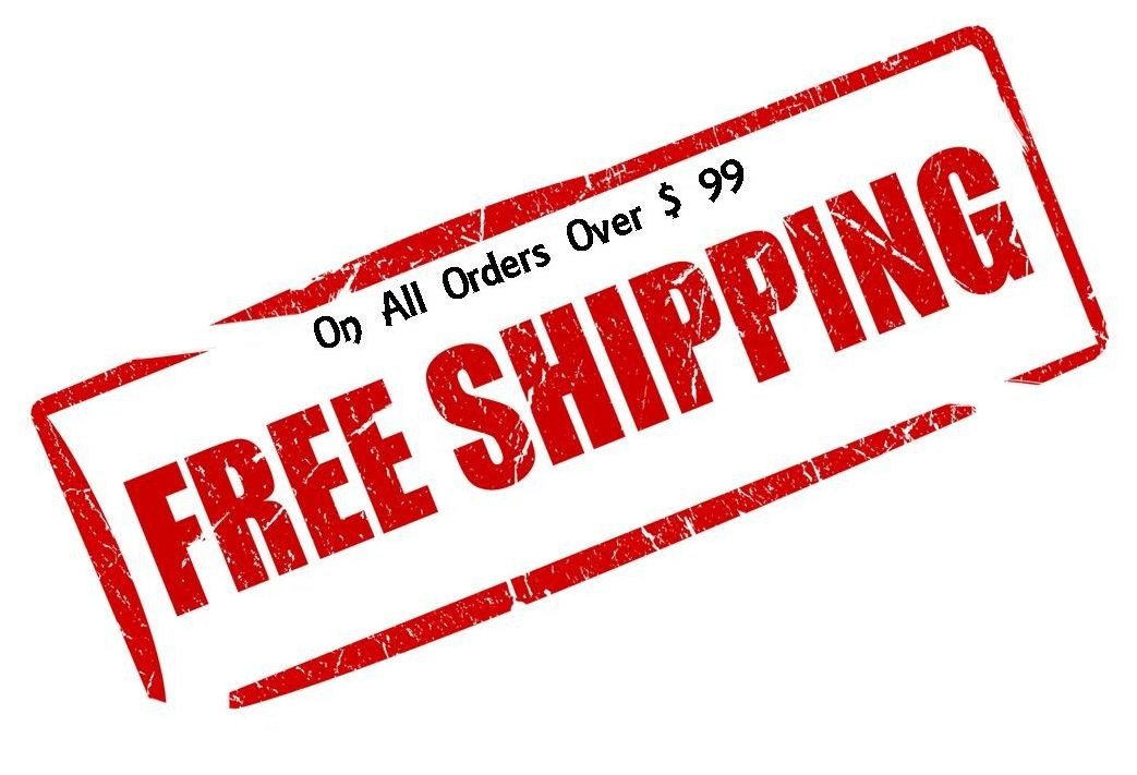 Orders over $ 99 ship free